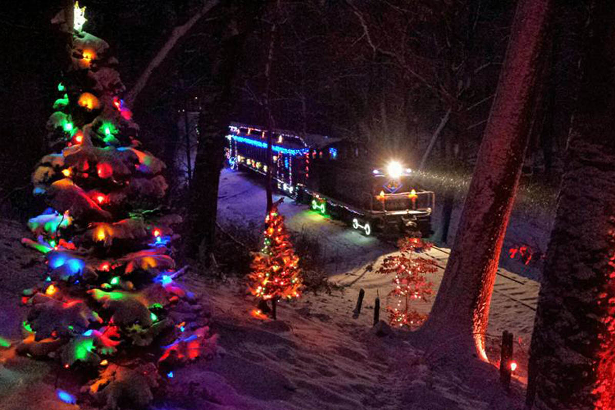 Christmas Train Ride Nj.Wilmington Western Railroad Delaware S Operating